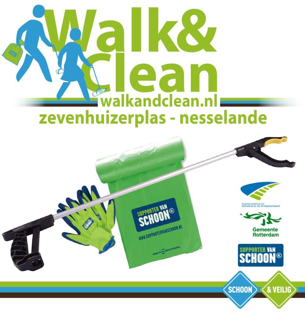 Zwerfafval opruimen Nesselande & Zevenhuizerplas